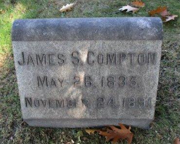 COMPTON, JAMES S. - Essex County, New Jersey | JAMES S. COMPTON - New Jersey Gravestone Photos
