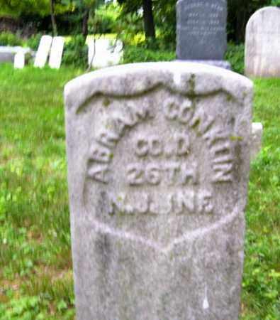 CONKLIN, ABRAM - Essex County, New Jersey | ABRAM CONKLIN - New Jersey Gravestone Photos