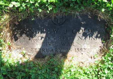 COOK, ANDREW JACKSON - Essex County, New Jersey   ANDREW JACKSON COOK - New Jersey Gravestone Photos