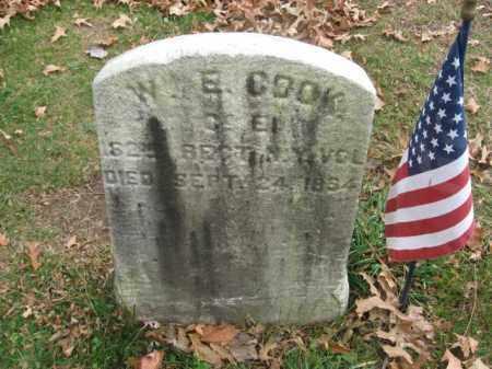 COOK, WILLIAM E. - Essex County, New Jersey | WILLIAM E. COOK - New Jersey Gravestone Photos