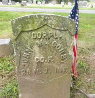 CORBY, JOHN M. - Essex County, New Jersey | JOHN M. CORBY - New Jersey Gravestone Photos