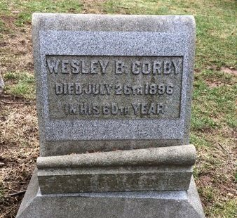 CORBY, WESLEY B. - Essex County, New Jersey | WESLEY B. CORBY - New Jersey Gravestone Photos