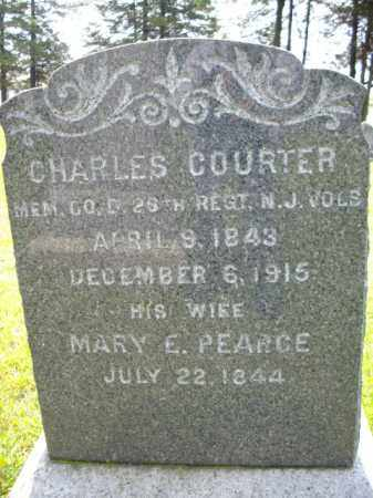 COURTER, CHARLES - Essex County, New Jersey | CHARLES COURTER - New Jersey Gravestone Photos