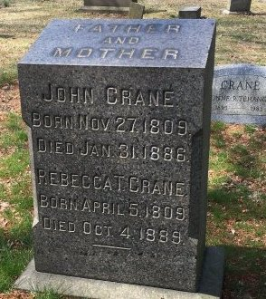 CRANE, JOHN - Essex County, New Jersey   JOHN CRANE - New Jersey Gravestone Photos