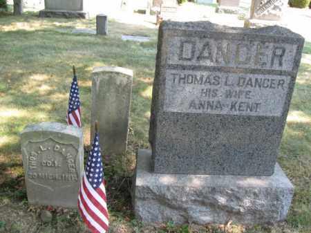 DANCER, THOMAS L. - Essex County, New Jersey | THOMAS L. DANCER - New Jersey Gravestone Photos