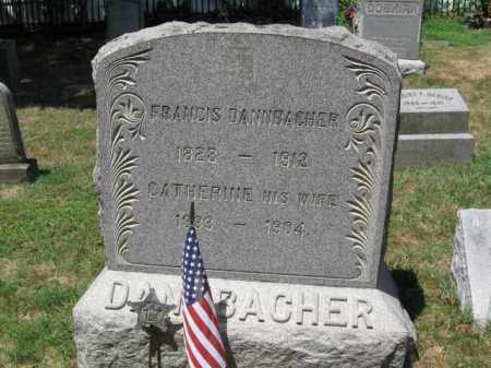 DANNBACHER, FRANCIS - Essex County, New Jersey   FRANCIS DANNBACHER - New Jersey Gravestone Photos