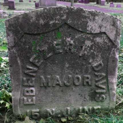 DAVIS, EBENEZER W. - Essex County, New Jersey | EBENEZER W. DAVIS - New Jersey Gravestone Photos