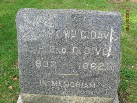 DAVIS, WILLIAM C. - Essex County, New Jersey | WILLIAM C. DAVIS - New Jersey Gravestone Photos