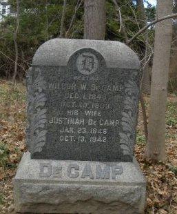 DE CAMP, WILBUR (WILBER) W. - Essex County, New Jersey | WILBUR (WILBER) W. DE CAMP - New Jersey Gravestone Photos