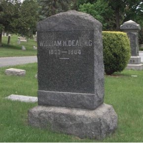 DEALING, WILLIAM H. - Essex County, New Jersey | WILLIAM H. DEALING - New Jersey Gravestone Photos