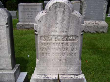DECAMP, JONATHAN W. - Essex County, New Jersey | JONATHAN W. DECAMP - New Jersey Gravestone Photos