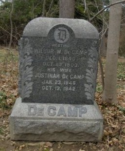 DECAMP, WILBUR (WILBER) W. - Essex County, New Jersey | WILBUR (WILBER) W. DECAMP - New Jersey Gravestone Photos