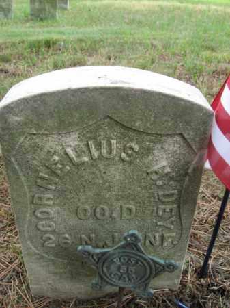 DEY, CORNELIUS H. - Essex County, New Jersey | CORNELIUS H. DEY - New Jersey Gravestone Photos