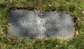 DODD, EDWIN F. - Essex County, New Jersey | EDWIN F. DODD - New Jersey Gravestone Photos