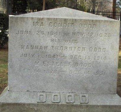DODD, IRA C. - Essex County, New Jersey | IRA C. DODD - New Jersey Gravestone Photos