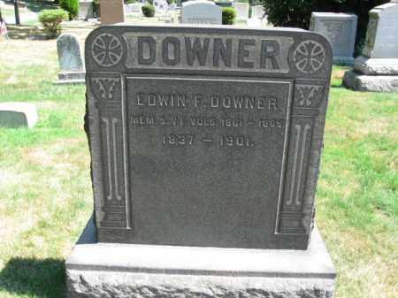 DOWNER, EDWIN F. - Essex County, New Jersey | EDWIN F. DOWNER - New Jersey Gravestone Photos