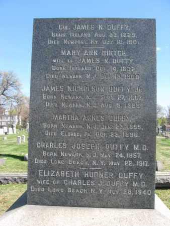 DUFFY, JAMES NICHOLSON - Essex County, New Jersey | JAMES NICHOLSON DUFFY - New Jersey Gravestone Photos