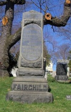 FAIRCHILD, FREDERICK - Essex County, New Jersey | FREDERICK FAIRCHILD - New Jersey Gravestone Photos