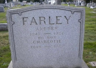 FARLEY, ANDREW - Essex County, New Jersey | ANDREW FARLEY - New Jersey Gravestone Photos
