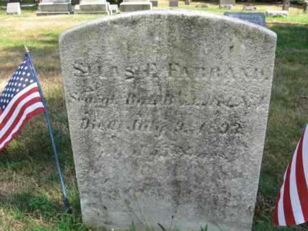 FARRAND, SILAS F. - Essex County, New Jersey | SILAS F. FARRAND - New Jersey Gravestone Photos