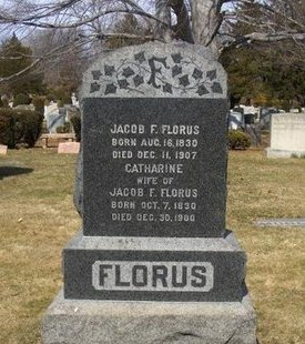 FLORUS (FLORIS), JACOB F. - Essex County, New Jersey   JACOB F. FLORUS (FLORIS) - New Jersey Gravestone Photos