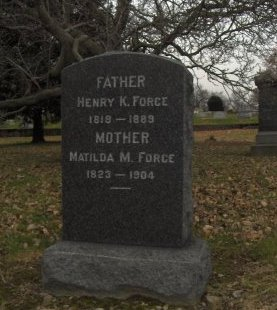 FORCE, HENRY K. - Essex County, New Jersey | HENRY K. FORCE - New Jersey Gravestone Photos