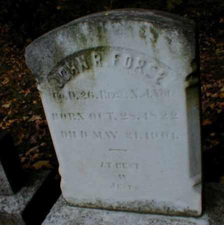 FORCE, JOHN R. - Essex County, New Jersey | JOHN R. FORCE - New Jersey Gravestone Photos