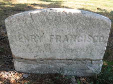 FRANCISCO, HENRY - Essex County, New Jersey   HENRY FRANCISCO - New Jersey Gravestone Photos
