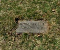 FREEMAN, EDWARD - Essex County, New Jersey | EDWARD FREEMAN - New Jersey Gravestone Photos