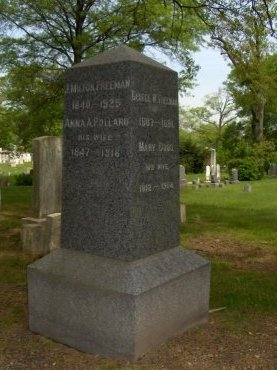 FREEMAN, JOHN MILTON - Essex County, New Jersey | JOHN MILTON FREEMAN - New Jersey Gravestone Photos