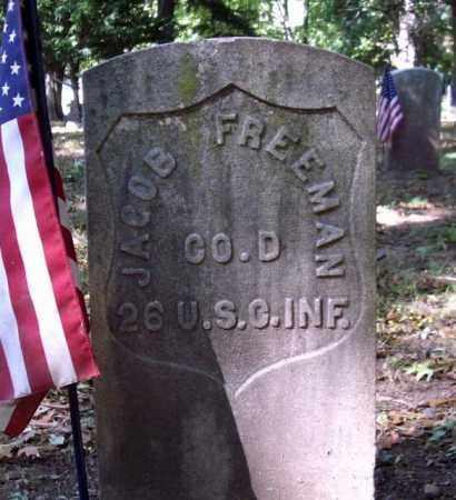 FREEMAN, JACOB - Essex County, New Jersey   JACOB FREEMAN - New Jersey Gravestone Photos