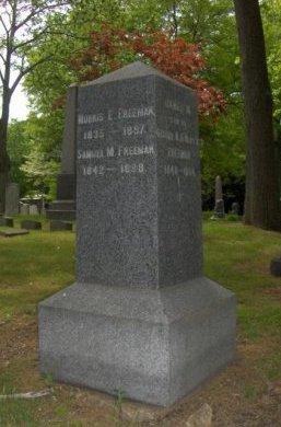 FREEMAN, MOSES E. - Essex County, New Jersey   MOSES E. FREEMAN - New Jersey Gravestone Photos