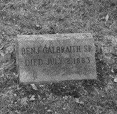 GALBRAITH, BENJAMIN - Essex County, New Jersey | BENJAMIN GALBRAITH - New Jersey Gravestone Photos