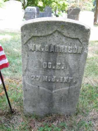 GARRISON, WILLIAM - Essex County, New Jersey | WILLIAM GARRISON - New Jersey Gravestone Photos