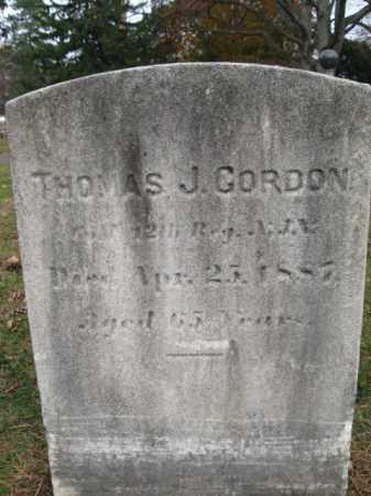 GORDON, THOMAS J. - Essex County, New Jersey | THOMAS J. GORDON - New Jersey Gravestone Photos