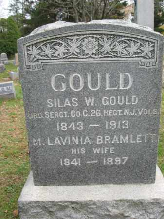 GOULD, SILAS W. - Essex County, New Jersey | SILAS W. GOULD - New Jersey Gravestone Photos