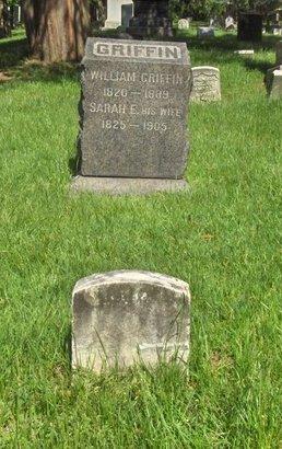 GRIFFIN, WILLIAM - Essex County, New Jersey | WILLIAM GRIFFIN - New Jersey Gravestone Photos
