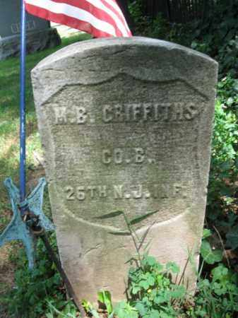 GRIFFITHS, MAHLON B. (H) - Essex County, New Jersey | MAHLON B. (H) GRIFFITHS - New Jersey Gravestone Photos