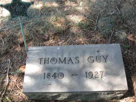 GUY, THOMAS - Essex County, New Jersey | THOMAS GUY - New Jersey Gravestone Photos