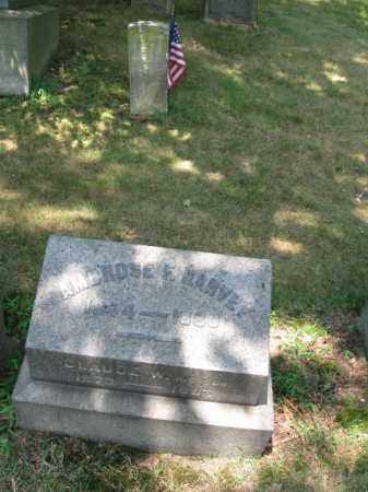 HARVEY, AMBROSE - Essex County, New Jersey   AMBROSE HARVEY - New Jersey Gravestone Photos