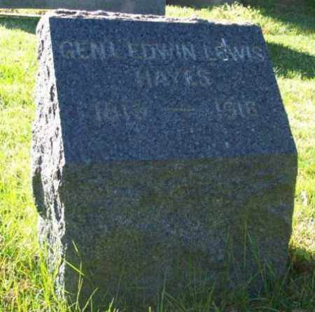 HAYES, EDWIN - Essex County, New Jersey | EDWIN HAYES - New Jersey Gravestone Photos