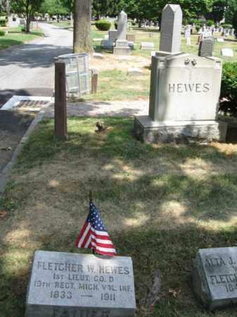 HEWES, FLETCHER W. - Essex County, New Jersey | FLETCHER W. HEWES - New Jersey Gravestone Photos
