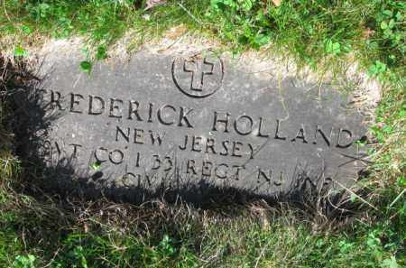 HOLLAND, FREDERICK - Essex County, New Jersey   FREDERICK HOLLAND - New Jersey Gravestone Photos
