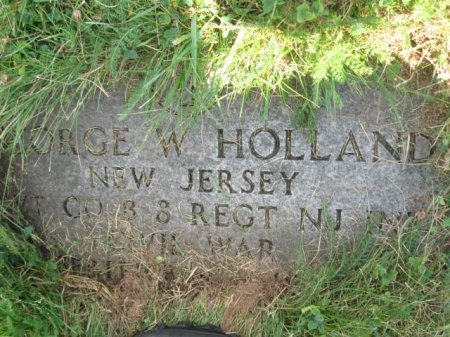 HOLLAND, GEORGE W. - Essex County, New Jersey | GEORGE W. HOLLAND - New Jersey Gravestone Photos