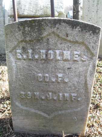 HOLMES, EDMUND I (S) - Essex County, New Jersey | EDMUND I (S) HOLMES - New Jersey Gravestone Photos