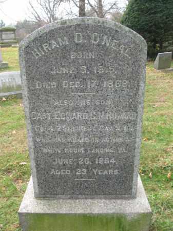 HOWARD, CAPT.EDWARD  CHARLES N. - Essex County, New Jersey   CAPT.EDWARD  CHARLES N. HOWARD - New Jersey Gravestone Photos