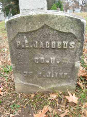 JACOBUS, PETER E. - Essex County, New Jersey   PETER E. JACOBUS - New Jersey Gravestone Photos