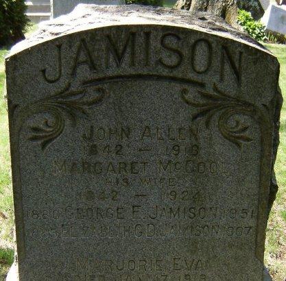 JAMISON, JOHN ALLEN - Essex County, New Jersey   JOHN ALLEN JAMISON - New Jersey Gravestone Photos