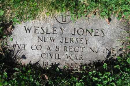 JONES, WESLEY - Essex County, New Jersey   WESLEY JONES - New Jersey Gravestone Photos