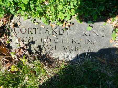 KING, CORTLAND - Essex County, New Jersey   CORTLAND KING - New Jersey Gravestone Photos